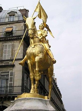 Emmanuel Frémiet - Frémiet's Jeanne d'Arc, Paris