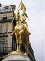 Paris 75001 Place des Pyramides Jeanne d'Arc equestre by Frémiet S1.jpg