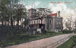 St Mary Magdalene Woolwich - St Mary's Gardens, ca. 1900