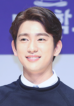 "Park Jin-young at ""Magic School"" press conference, 11 September 2017 01.png"