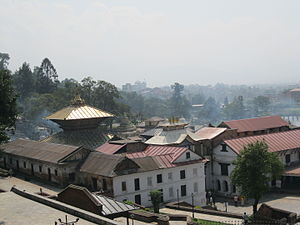Pashupatinath Temple - Pashupati temple surroundings