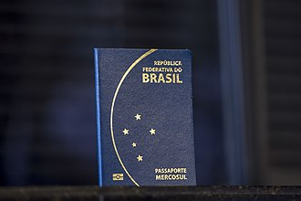Brazilian passport - The cover of the Brazilian passport represents the constellation of the southern cross.
