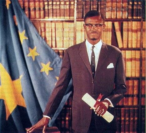 Patrice Lumumba official portrait