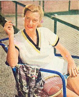 Pauline Betz American tennis player