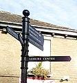 Pedestrian Signpost - geograph.org.uk - 1089848.jpg