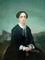 Retrato de Maria Custódia Guimarães de Almeida