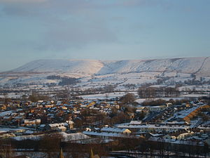Pendle Hill - Pendle Hill in winter 2010