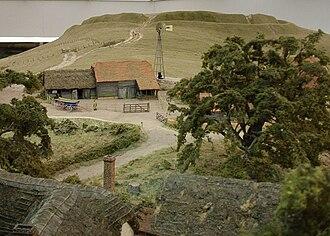Pendon Museum - Pendon's White Horse Hill