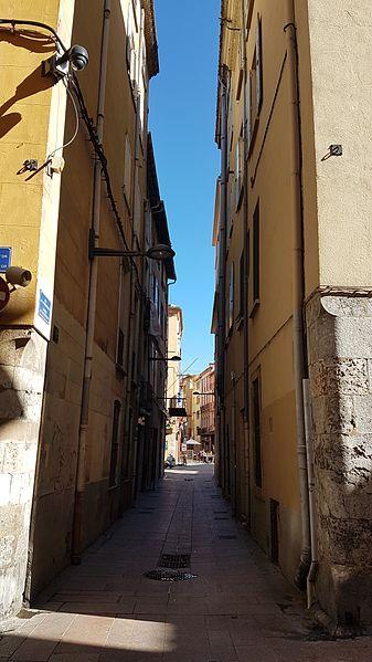 Rue de la Poissonnerie à Perpignan