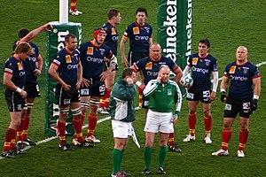 USA Perpignan - USA Perpignan during a Heineken Cup match