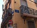 Perpignan plaque rue de la Révolution Française angle rue Ribeil.jpg