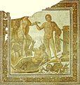 Perseo libera Andromeda dal pavimento di Bulla Regia conservato al Bardo di Tunisi.jpg
