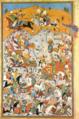 Persian miniature - A battle scene.png