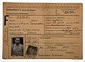 Personalkarte du prisonnier de guerre Jean Debal, conservée au Centre d'Histoire de la Résistance à Lyon.jpg