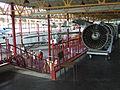 Petőfi Csarnok, Repüléstörténeti kiállítás, Solovjev D-30 gázturbinás sugárhajtómű.JPG
