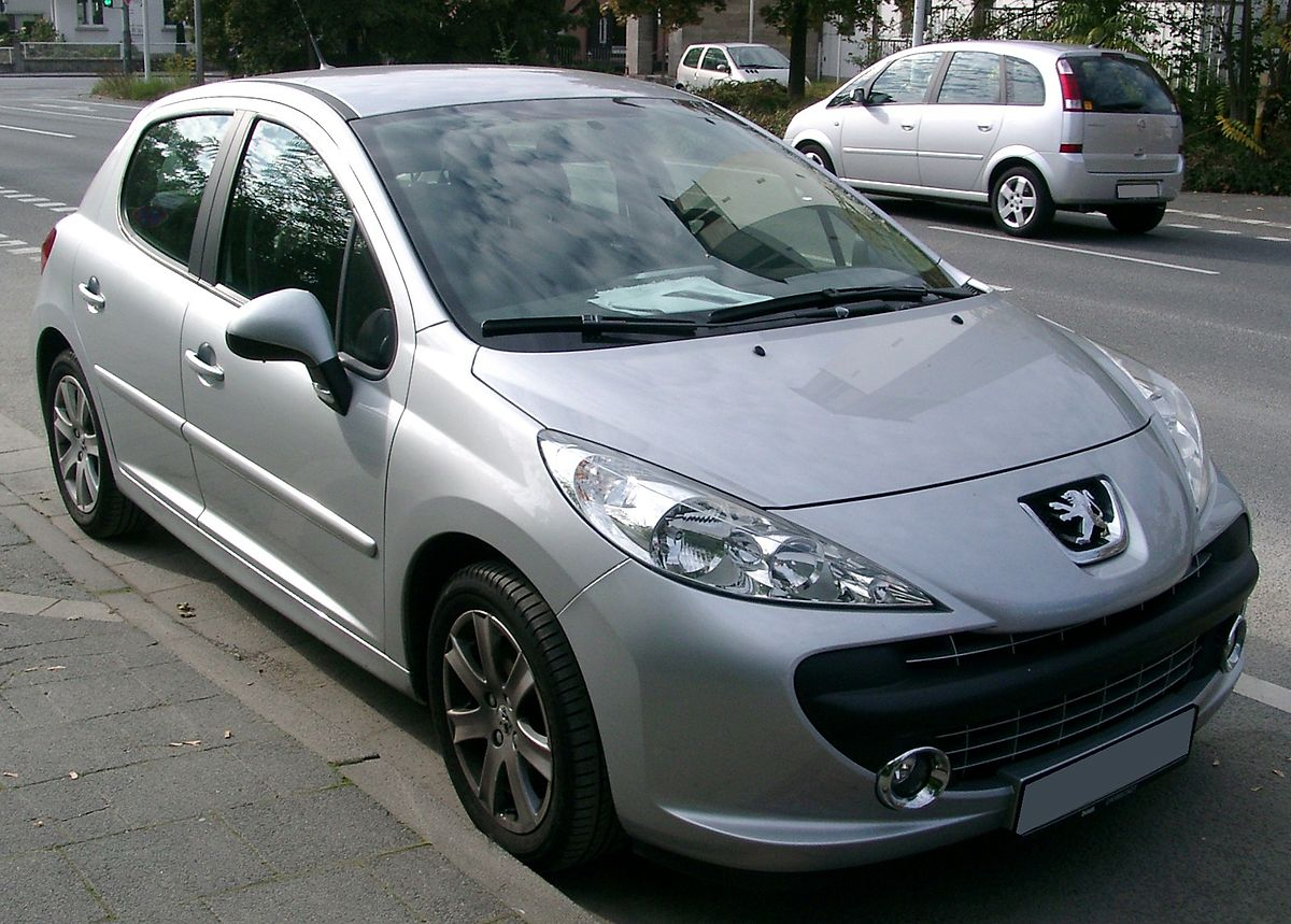 peugeot 207 wikipedia wolna encyklopedia. Black Bedroom Furniture Sets. Home Design Ideas