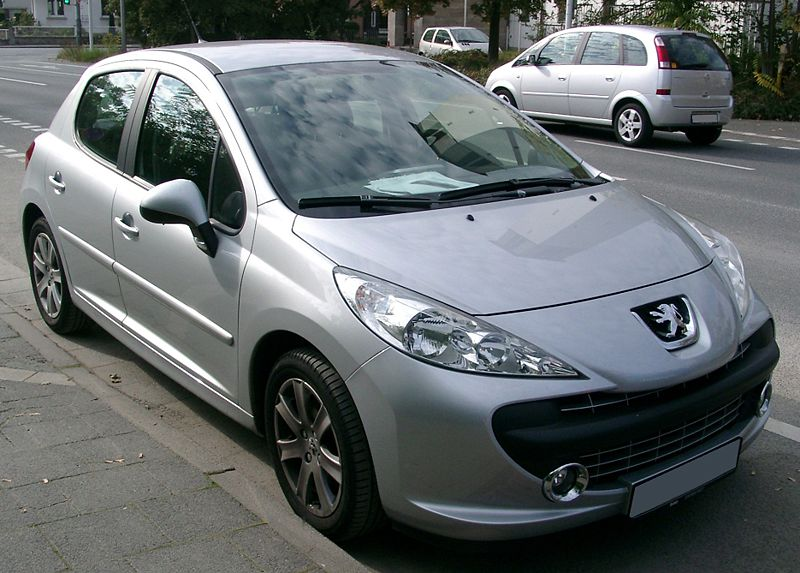 file peugeot 207 front wikimedia commons. Black Bedroom Furniture Sets. Home Design Ideas