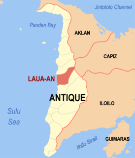 Laua-an Municipality of the Philippines in the province of Antique