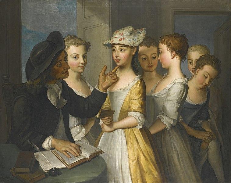 File:Philippe Mercier - School for girls.jpg