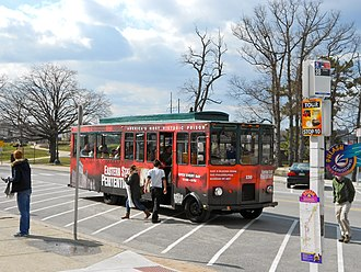 Philly Phlash - An older version of the PHLASH, which operated as trolleys until 2014.