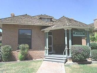 Phoenix Historic Property Register - Image: Phoenix Heritage Square The Stevens Haugsten House 1901