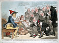 Physicians expressing their thanks to influenza. Coloured et Wellcome L0009997.jpg