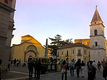 Veduta del Complesso monumentale di Santa Sofia da piazza Matteotti