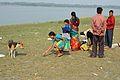 Picnic - Sundarban Biodiversity and Interpretation Area - Riverbank Ichamati - Taki - North 24 Parganas 2015-01-13 4689.JPG