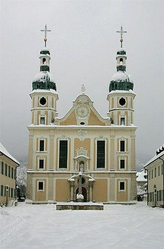 Franz Anton Bagnato - Church in Arlesheim