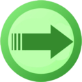 Pictogram voting move light green.png