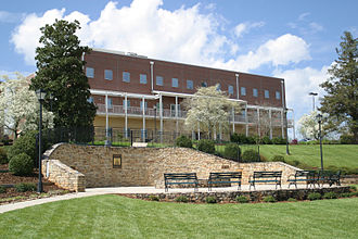 Piedmont College - Stewart Hall is one of Piedmont's classroom buildings and houses labs and classroom space for the mathematics and sciences departments