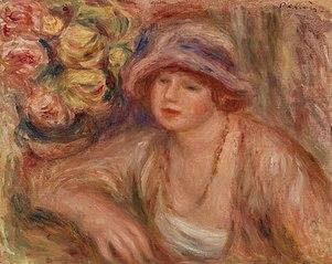 Woman Leaning (Femme accoudée)