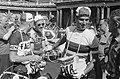 Piet van Est, Gitane-Leroux rider and Rik van Looy, Tour de France 1962.jpg