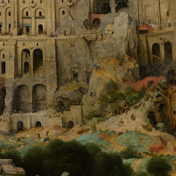 File:Pieter Bruegel the Elder - The Tower of Babel (Vienna) - Google Art Project-x1-y1.jpg