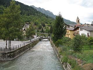 Stura di Demonte river in Italy