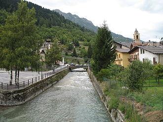 Stura di Demonte - The Stura during its Alpine stage (at Pietraporzio)