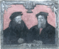 Pietro Martire Vermigli und Theodor Bibliander, false colour.png