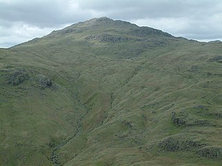 Pike of Blisco mountain in United Kingdom