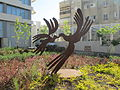 PikiWiki Israel 35615 Birds sculpture by Menashe Kadishman in Tel Aviv.JPG
