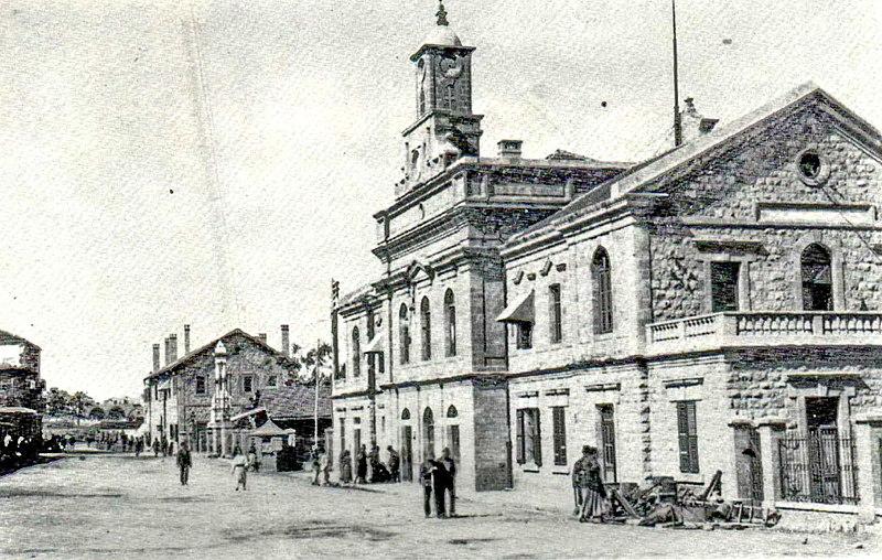 תחנת הרכבת בחיפה