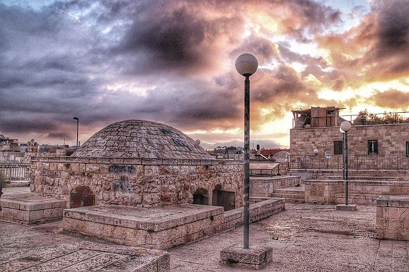 תצפית מגגות ברובע היהודי