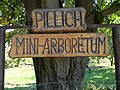 Pillich Mini-Arboretum. Sign. - Simontornya.JPG