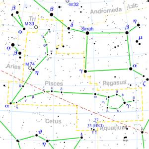 Nakshatra - Image: Pisces constellation map