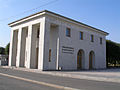 Piskarevskoye Memorial Cemetery West Pavilion.jpg