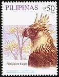 Pithecophaga jefferyi 2008 stamp of the Philippines 2.jpg