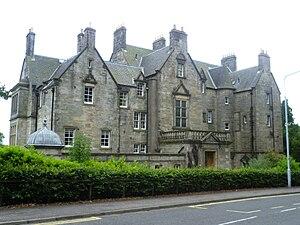 Pitreavie Castle - Pitreavie House in 2011