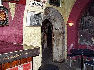 Piwnica pod Baranami - Piwnica pod Baranami, entrance
