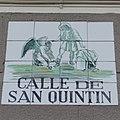 Placa de la calle de San Quintín (cropped).JPG