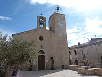 Place de l'Église, Uchaud, Gard.jpg