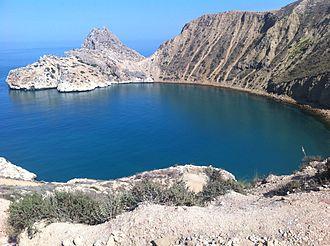 El Jebha - Mers Dar, a beautiful beach in El Jebha.